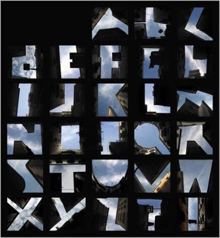 alphabet-sky